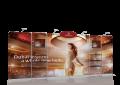 FABRIC BACKDROP WALL (STEEL FEET): E17H07